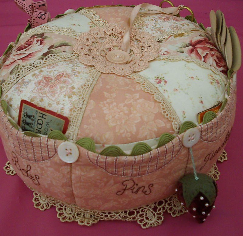 Debbie Magee's Giant Pincushion SSDO 2008
