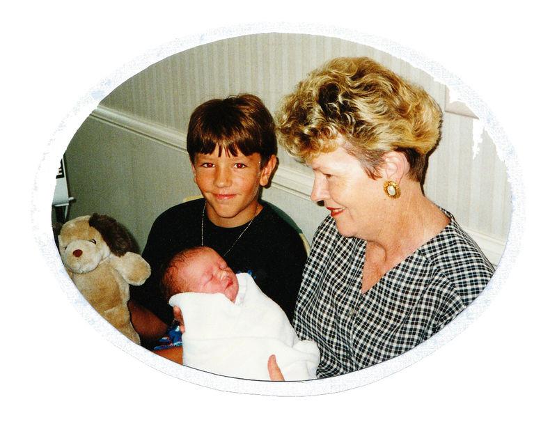 Mum, Josh, Jed & Kenny 1997